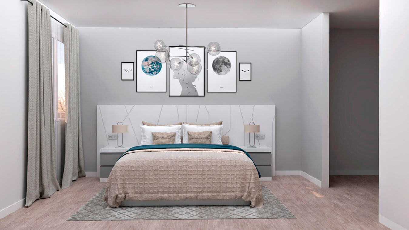 Dormitorio modelo YAKI - Ref: 0012