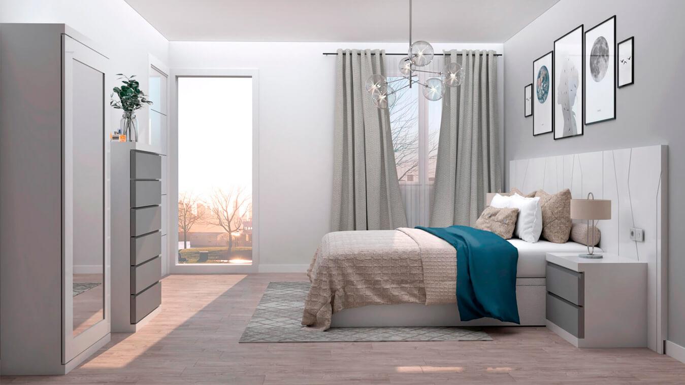Dormitorio modelo YAKI - Ref: 0013