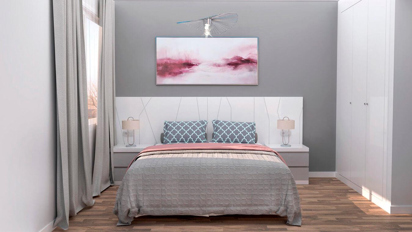 Dormitorio modelo YAKI - Ref: 0014
