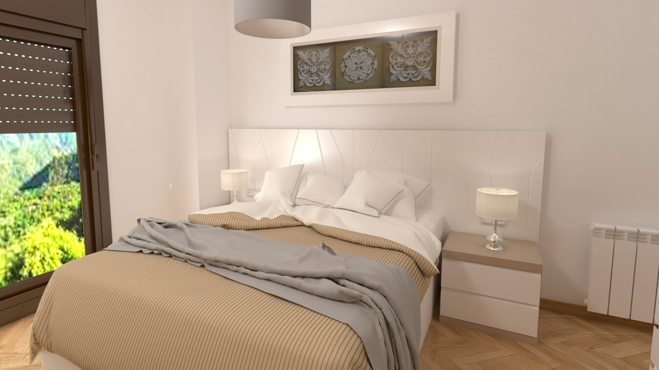 Dormitorio modelo YAKI - Ref: 0015