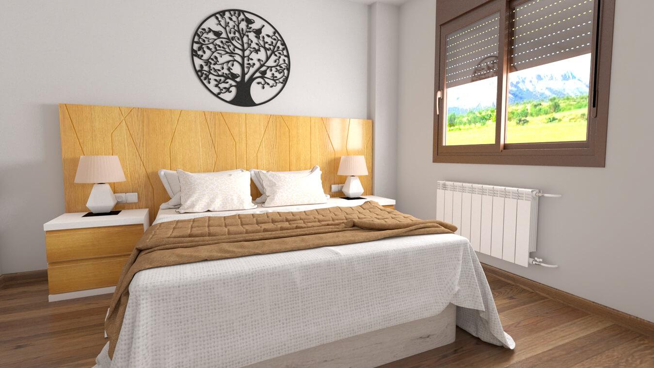 Dormitorio modelo YAKI - Ref: 0017