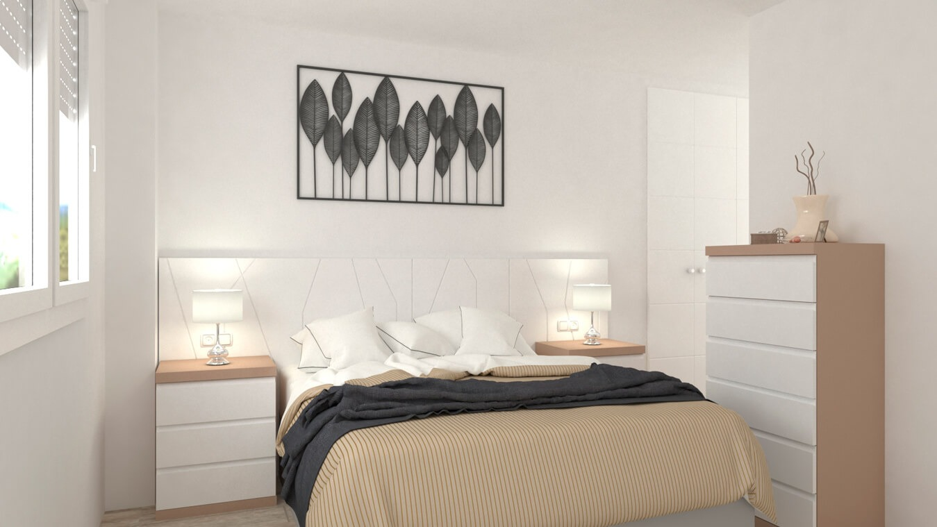 Dormitorio modelo YAKI - Ref: 0001