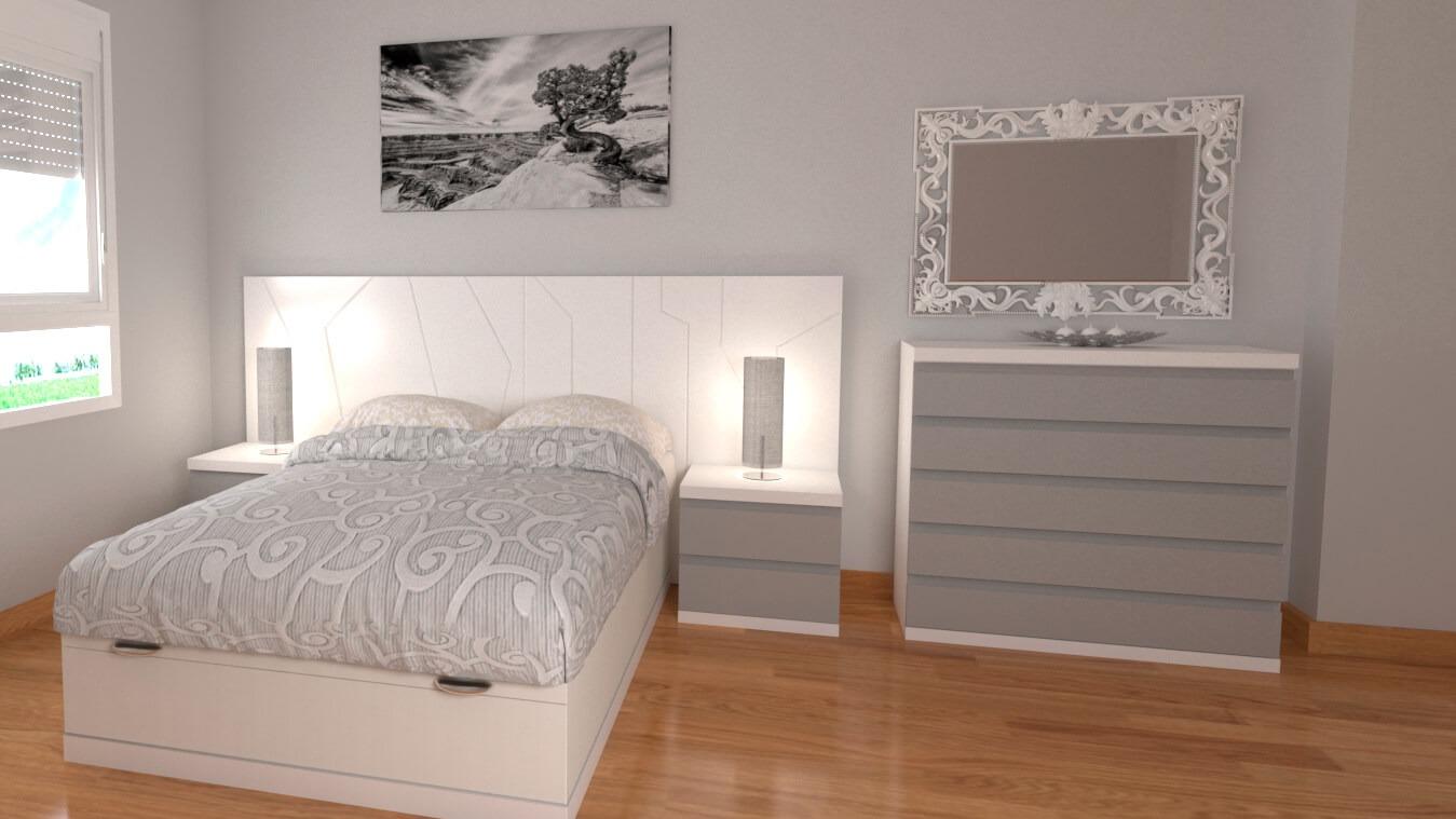 Dormitorio modelo YAKI - Ref: 0020