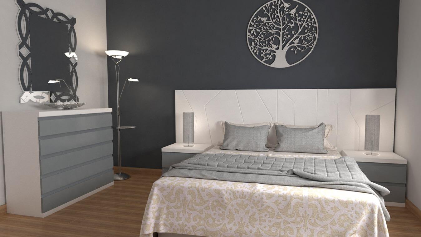 Dormitorio modelo YAKI - Ref: 0003