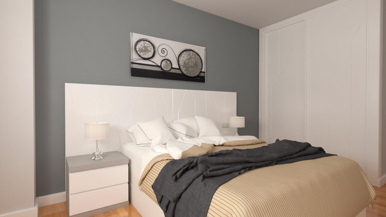 Dormitorio modelo YAKI - Ref: 0022