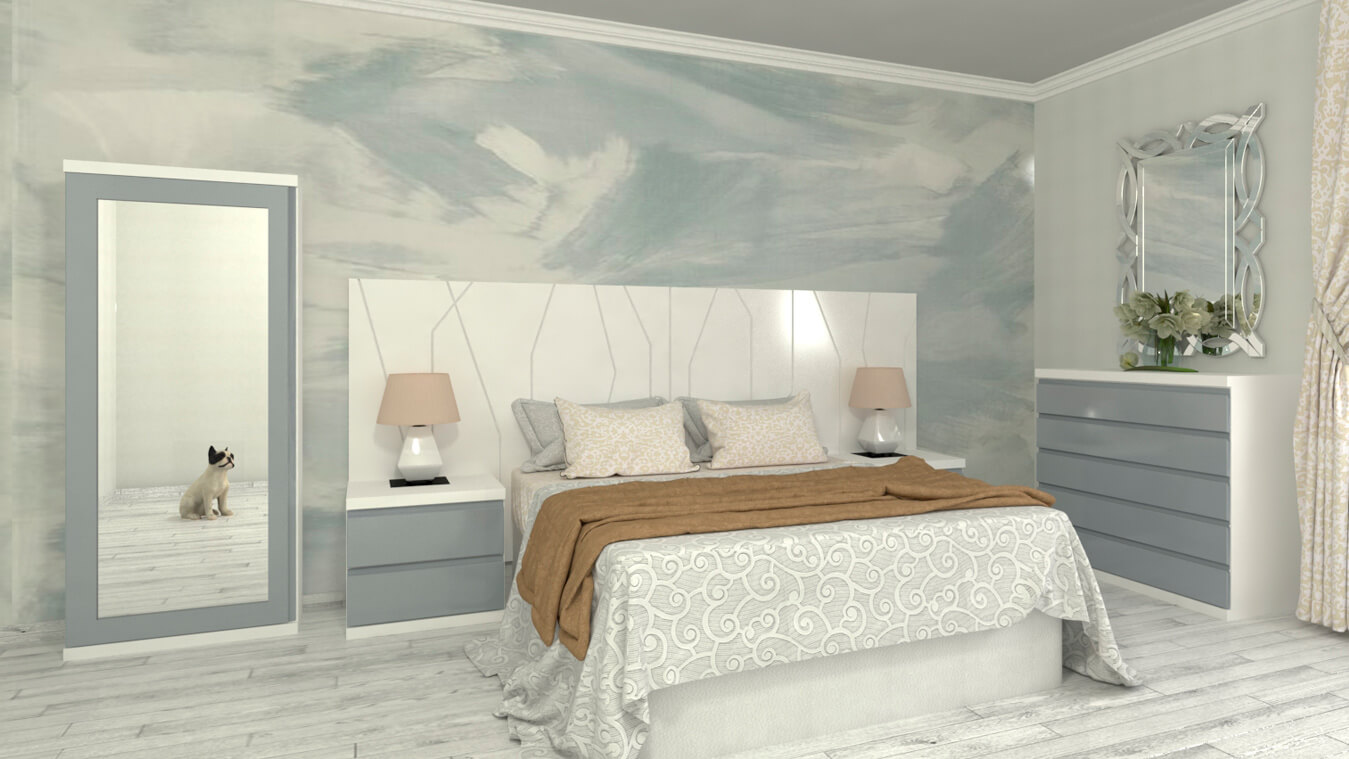 Dormitorio modelo YAKI - Ref: 0023