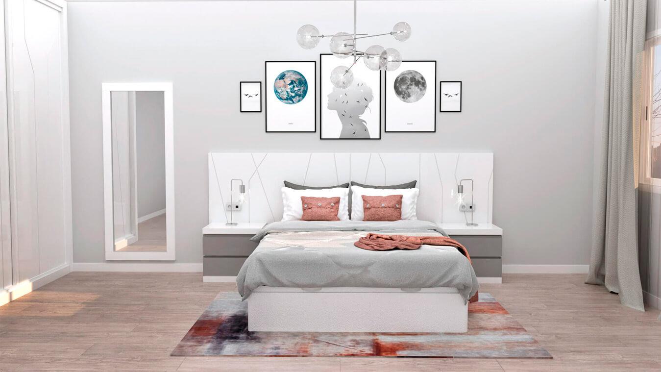 Dormitorio modelo YAKI - Ref: 0021
