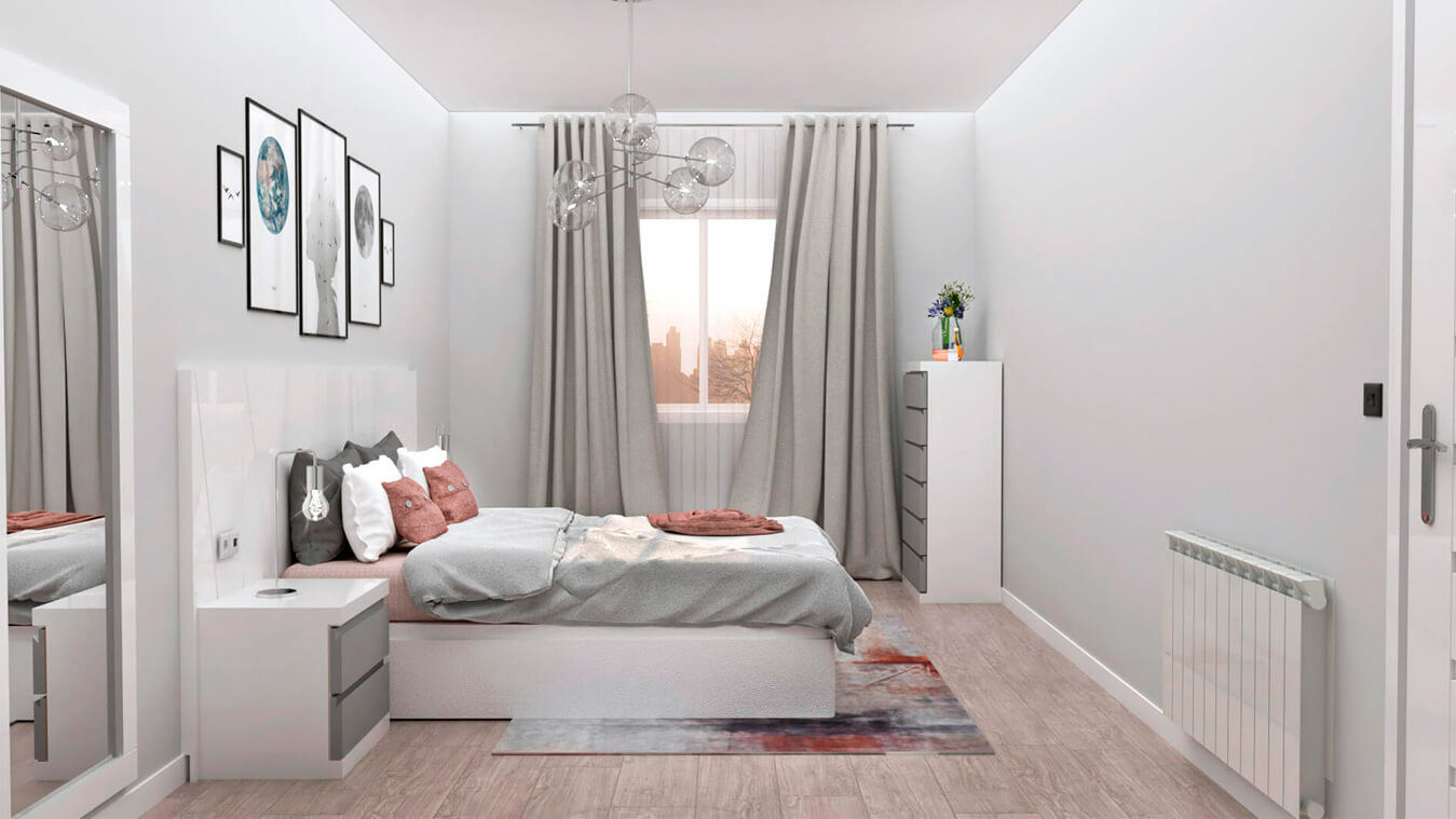 Dormitorio modelo YAKI - Ref: 0004