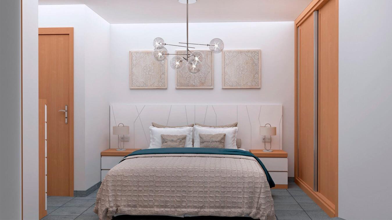 Dormitorio modelo YAKI - Ref: 0007