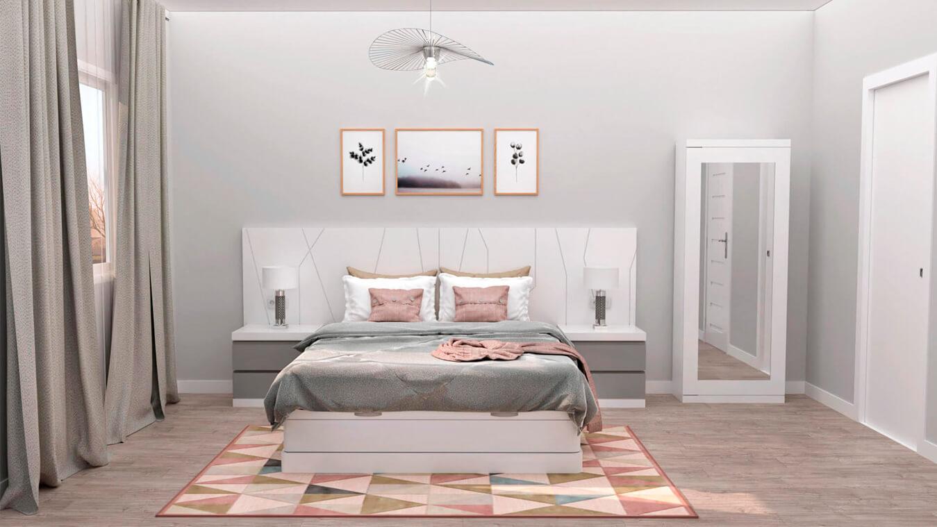 Dormitorio modelo YAKI - Ref: 0008