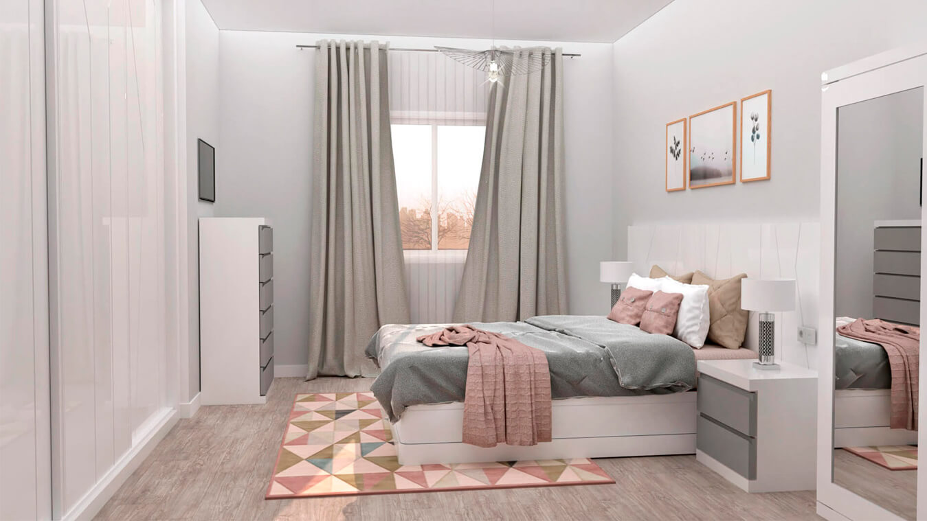 Dormitorio modelo YAKI - Ref: 0009