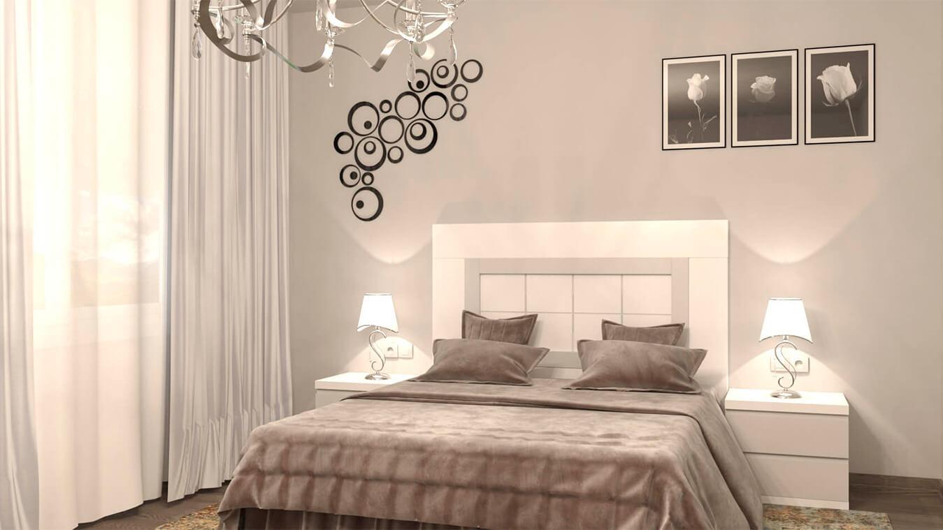 Dormitorio modelo GRANITO NUEVO Ref. 0011