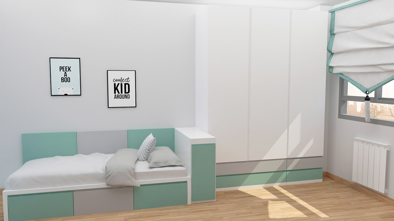 Dormitorio Juvenil TATAMI - Ref. 0009