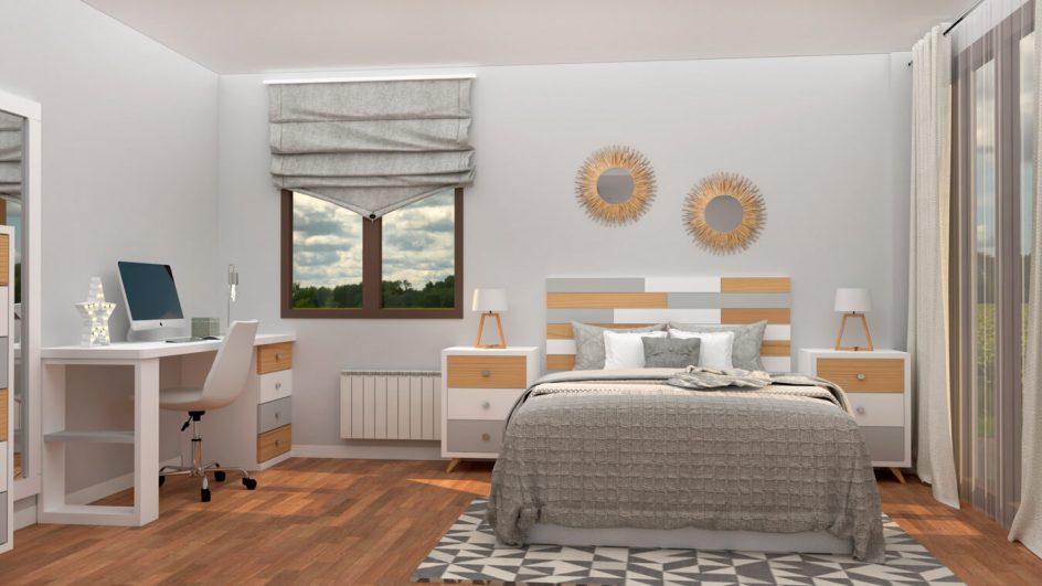 Dormitorio modelo ALVASON - Ref: 0018