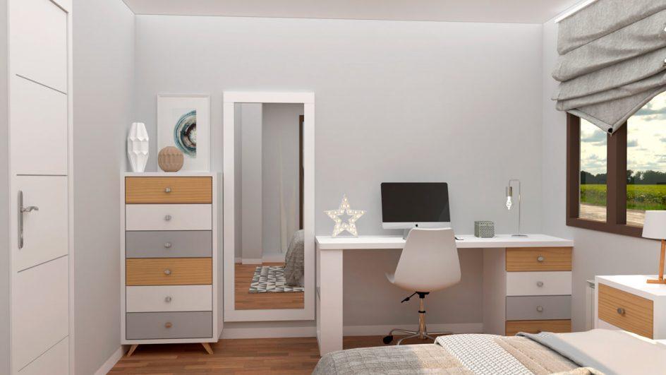 Dormitorio modelo ALVASON - Ref: 0019