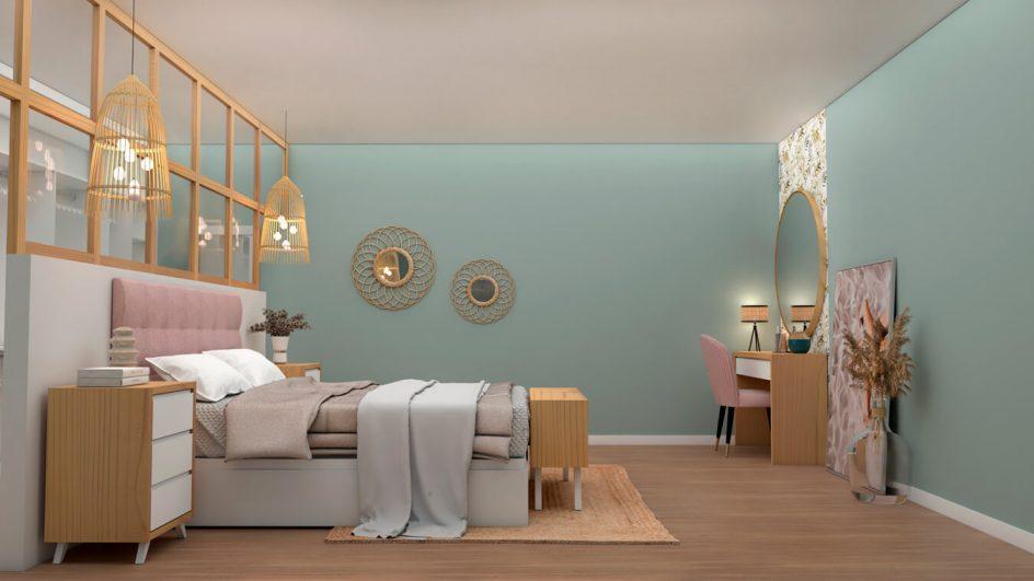 Dormitorio modelo ALVASON - Ref: 0495