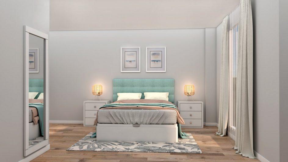 Dormitorio modelo ALVASON - Ref: 0497