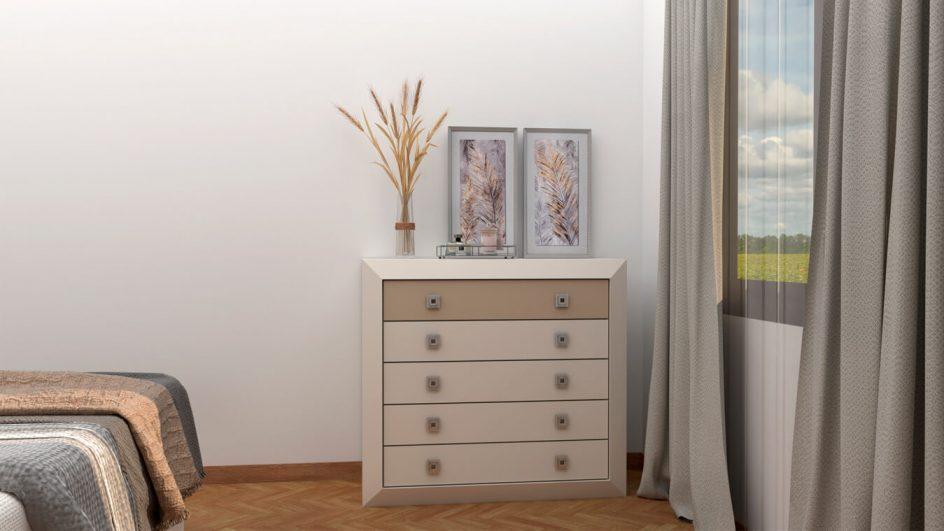 Dormitorio modelo BRUNO - Ref: 0016