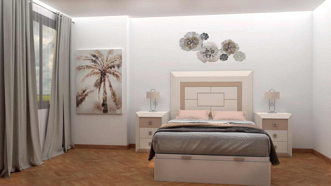 Dormitorio modelo BRUNO - Ref: 0015