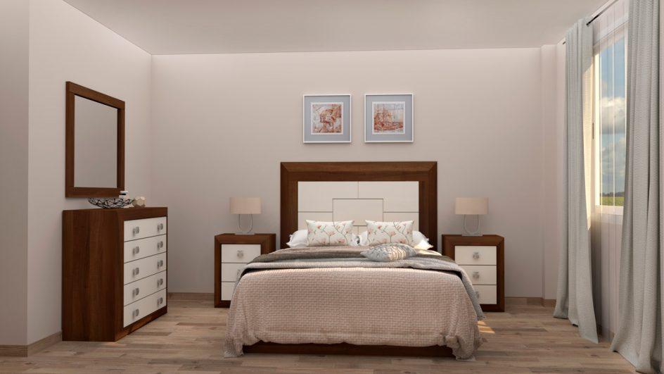 Dormitorio modelo BRUNO - Ref: 0014