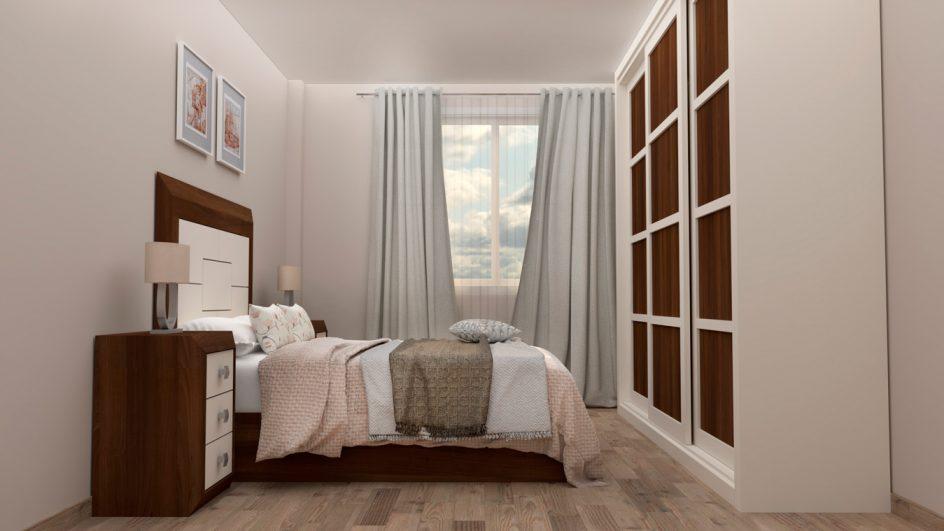 Dormitorio modelo BRUNO - Ref: 0013