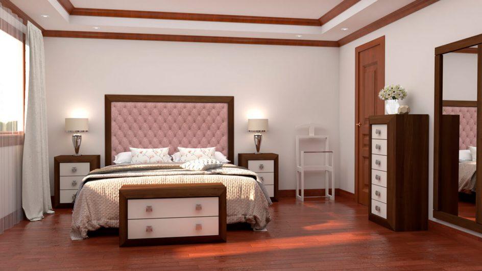 dormitorio completo fabricado por muebles tante