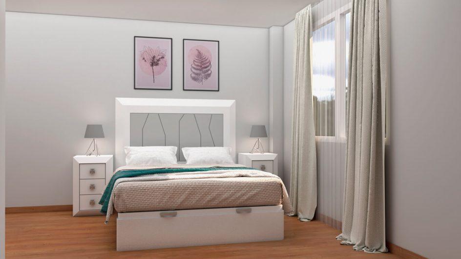 Dormitorio modelo BRUNO - Ref: 0011