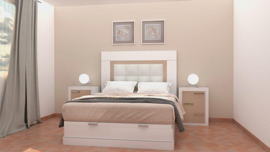 Dormitorio modelo GRANITO NUEVO Ref. 0012