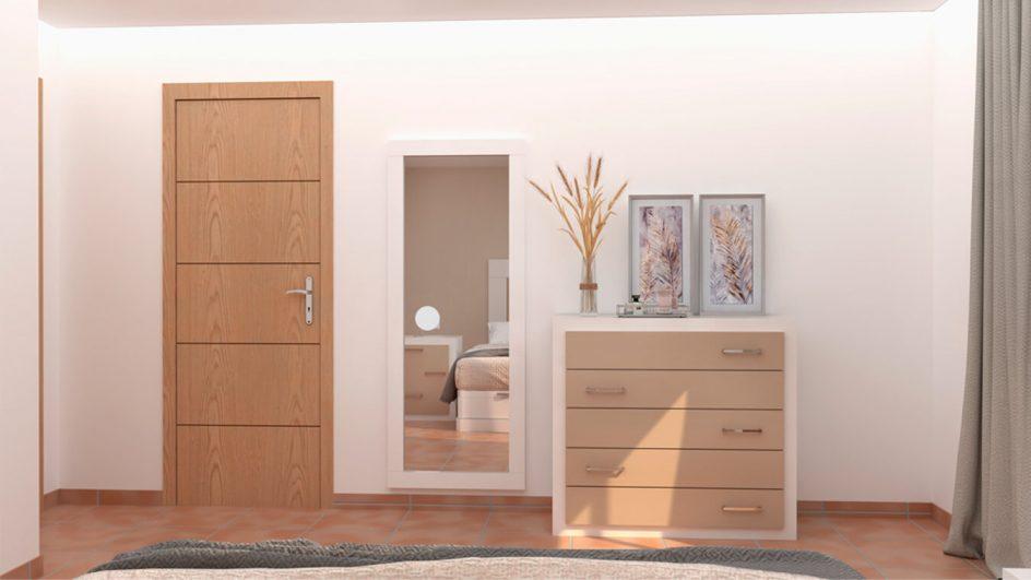 Dormitorio modelo GRANITO NUEVO Ref. 0013