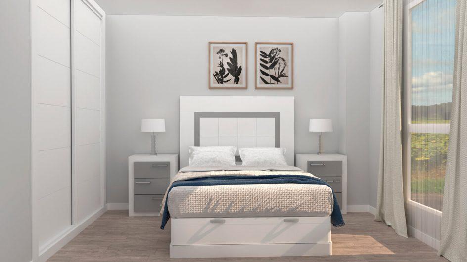 Dormitorio modelo GRANITO NUEVO - Ref: 0499