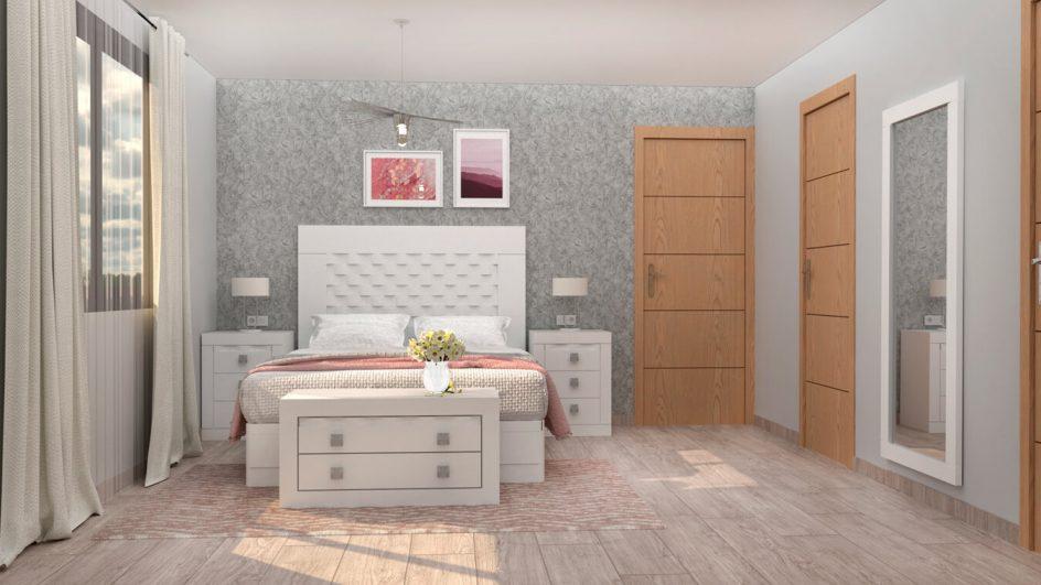 Dormitorio modelo GRANITO OLAS - Ref. 0028