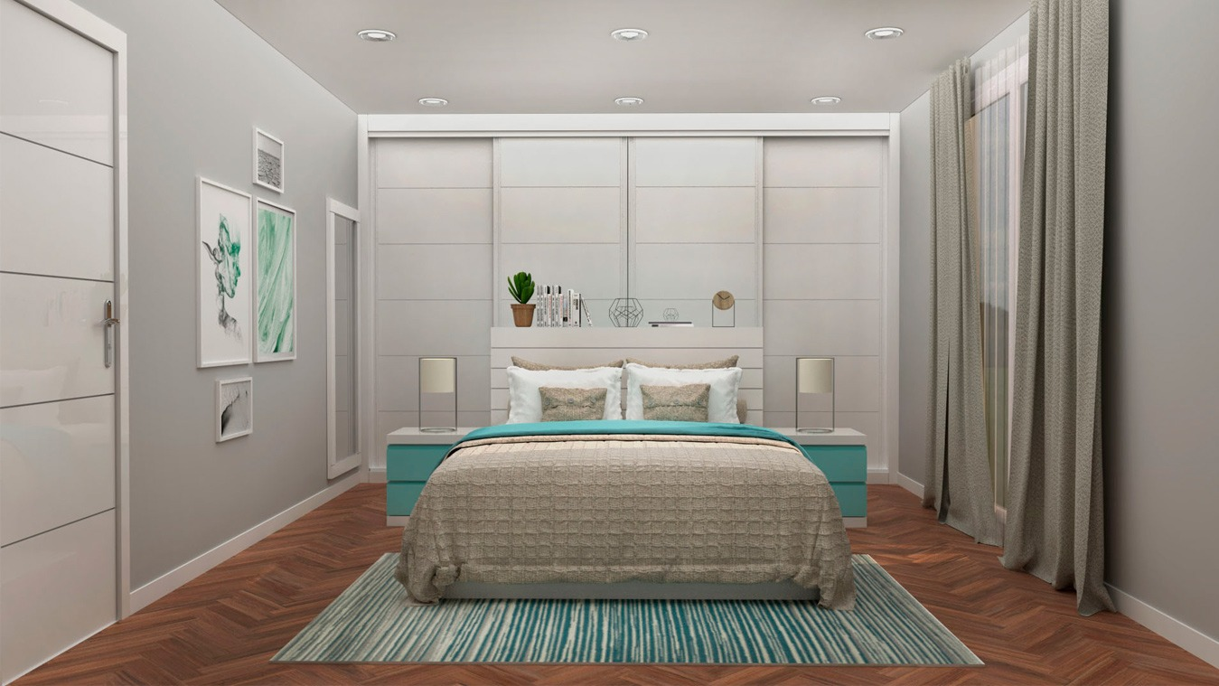 Dormitorio modelo GRANITO SOLAPADO - Ref. 0020