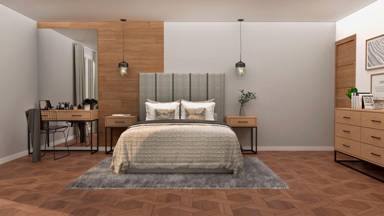 Dormitorio modelo INDUSTRIAL - Ref. 0001