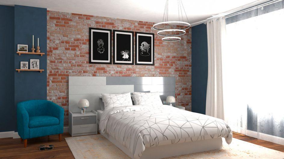 Dormitorio modelo MODERNO - Ref: 0498