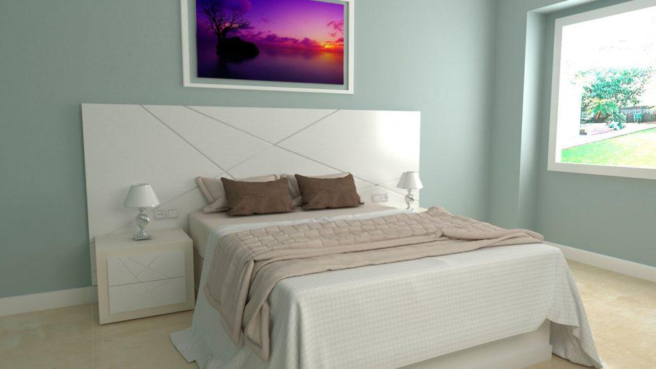 Dormitorio modelo MODERNO KANSAS - Ref: 0038