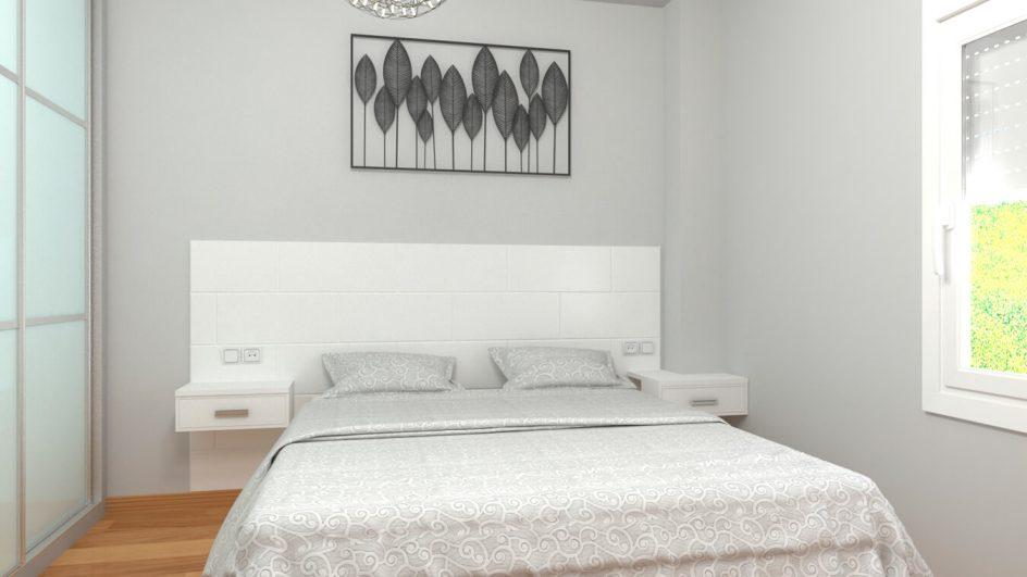 Dormitorio modelo MODERNO KANSAS - Ref: 0037