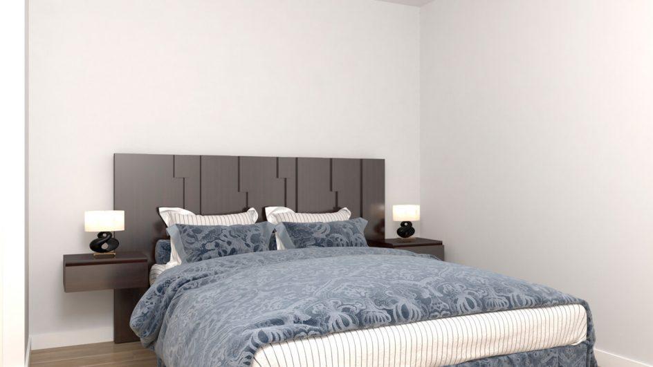 Dormitorio modelo MODERNO KANSAS - Ref: 0035