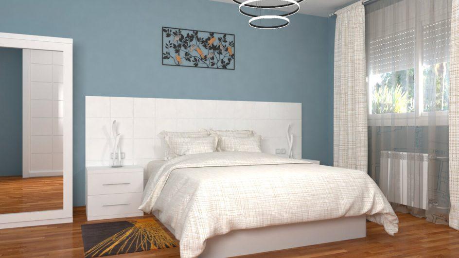 Dormitorio modelo MODERNO KANSAS - Ref: 0034