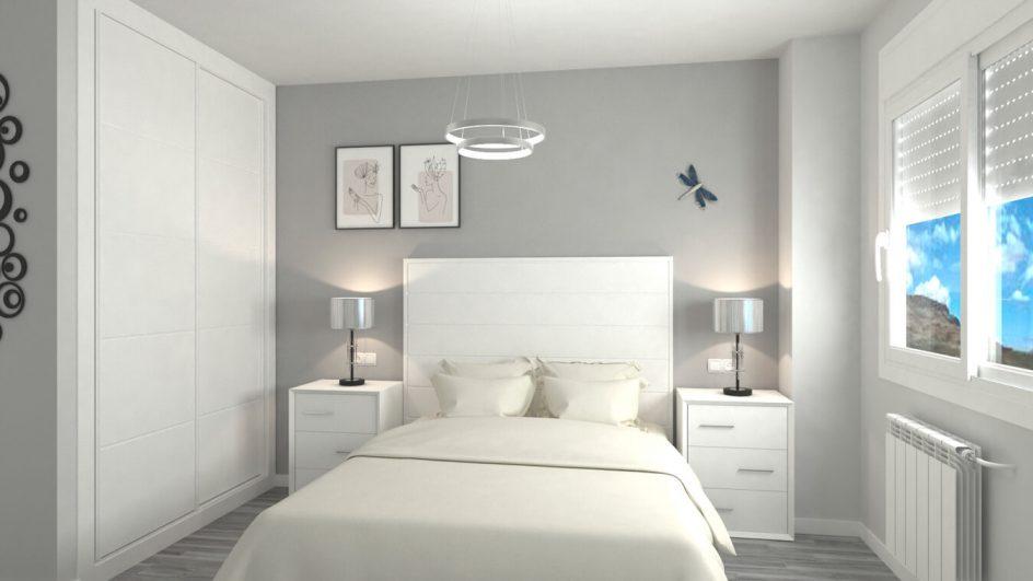 Dormitorio modelo MODERNO KANSAS - Ref: 0032