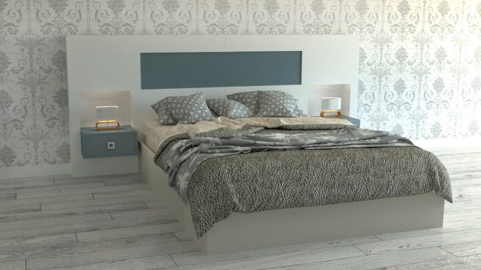 Dormitorio modelo MODERNO - Ref: 0495