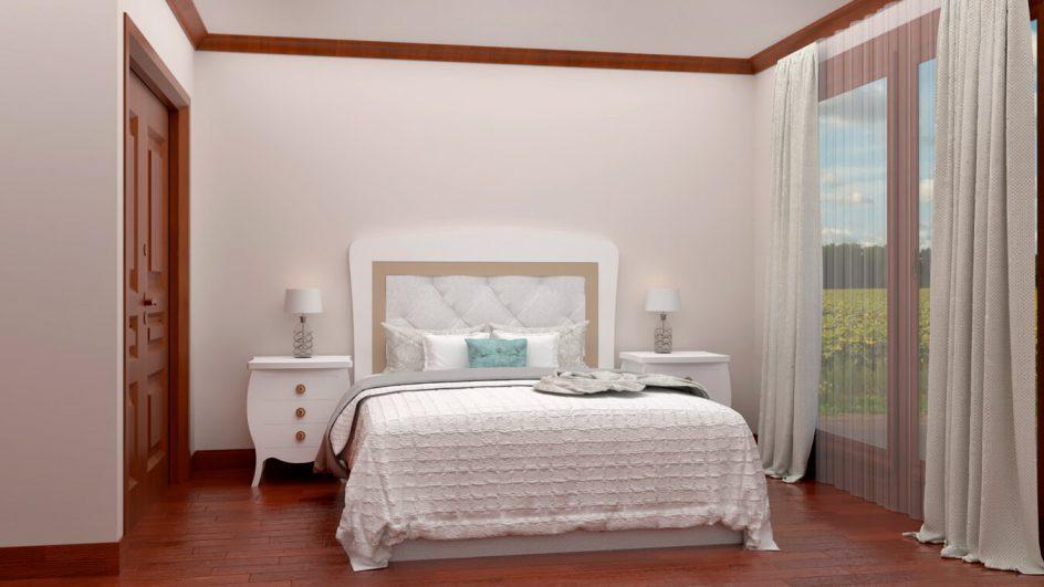 Dormitorio modelo SECRETO - Ref: 0023
