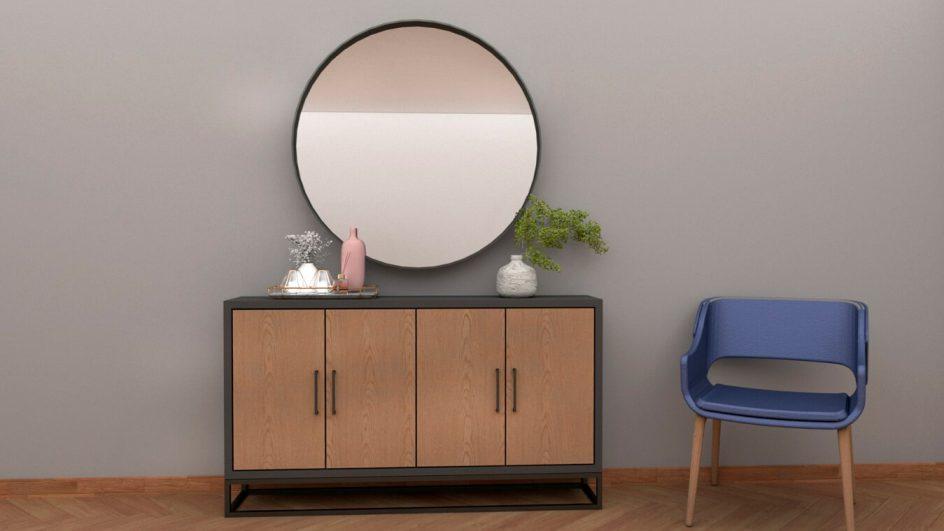 mueble de entrada moderno
