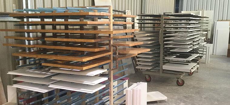 muebles pintados en fabrica tante