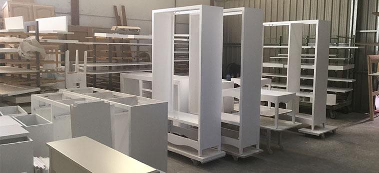 proceso de secado muebles en fabrica tante