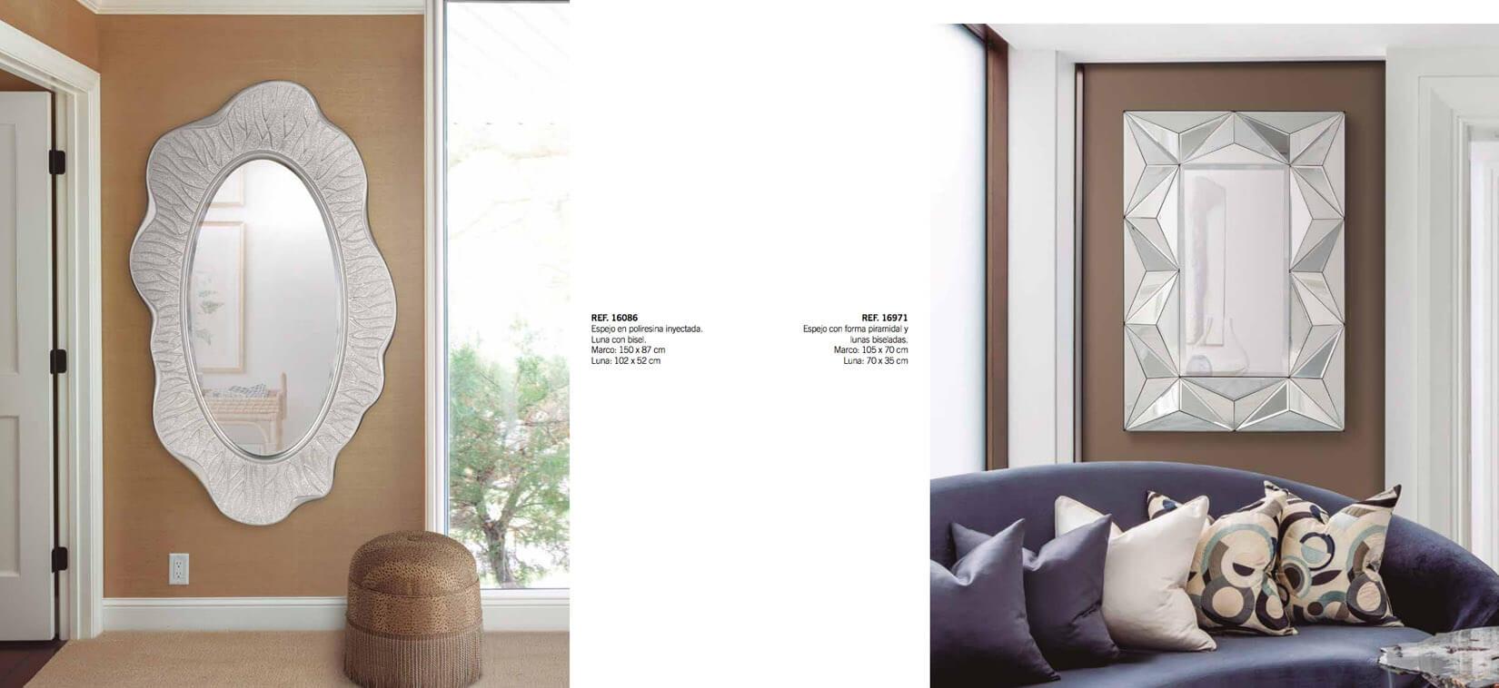 Interiorismo Espejos GYC - Ref. 0001