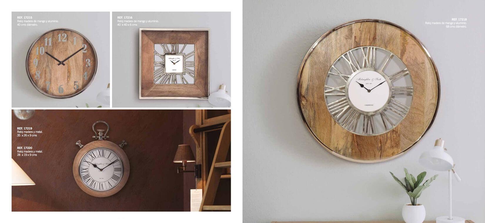 Interiorismo Reloj de pared GYC - Ref. 0007