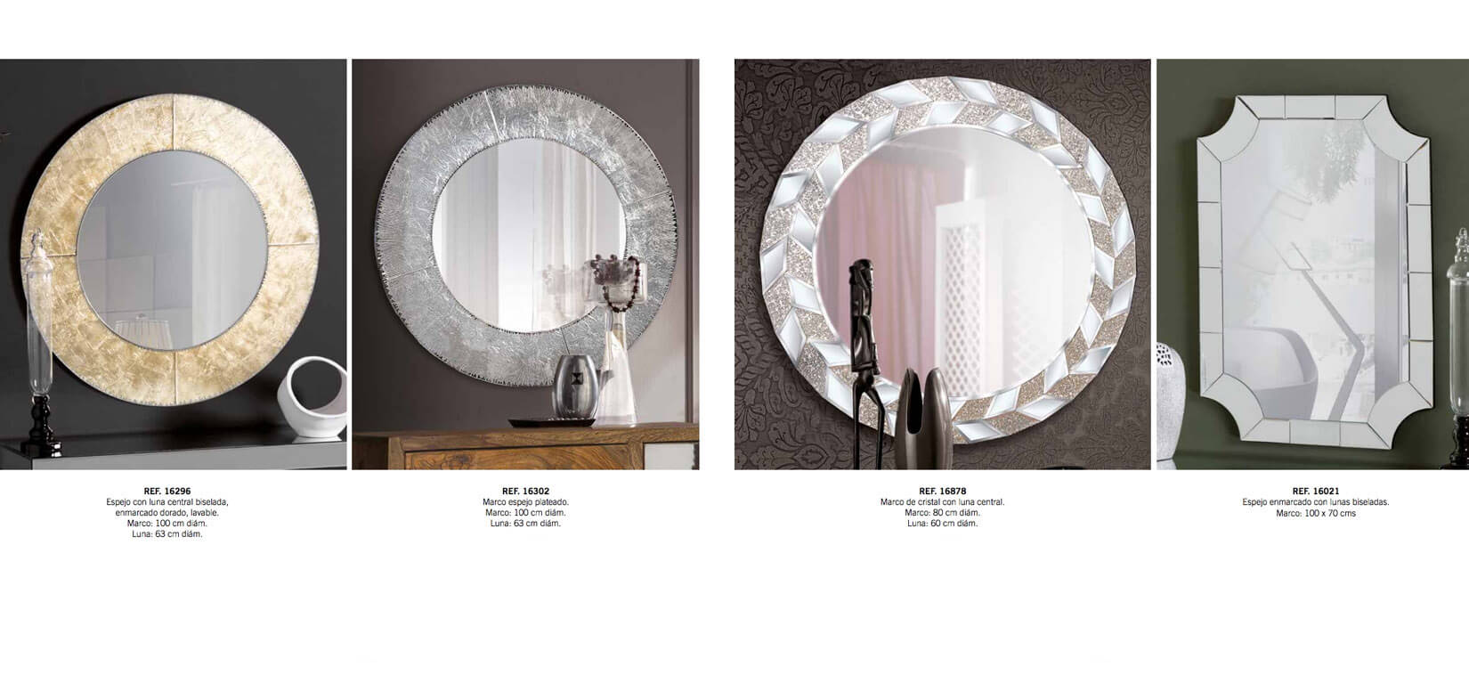 Interiorismo Espejos GYC - Ref. 0015
