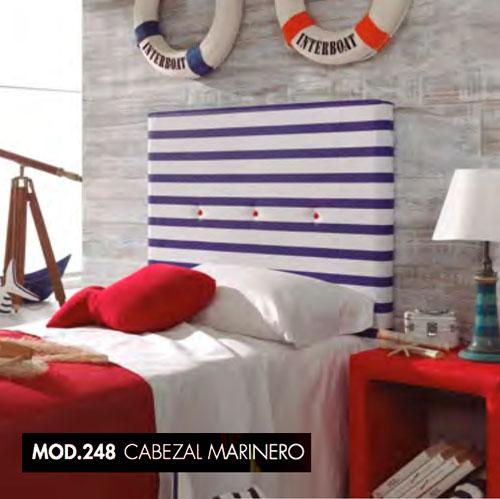 JUVENIL TC CABEZAL MARINERO MOD.248