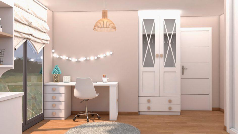 Dormitorio Juvenil COMPACTO - Ref: 0488