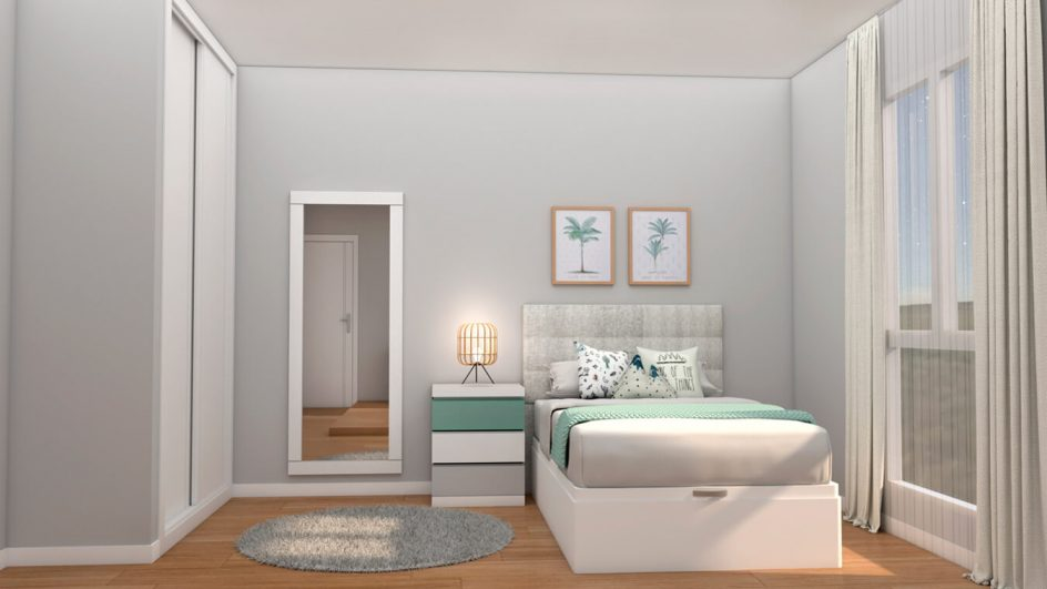 Dormitorio Juvenil INDEPENDIENTE - Ref. 0012